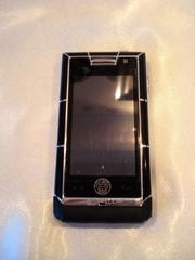 Мобильный телефон Versace Unique,  оригинальная копия версаче,  черный.