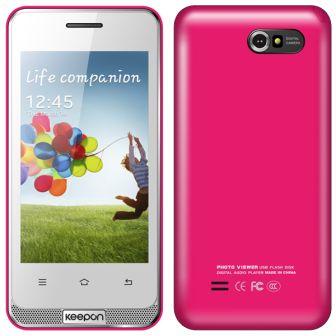 Смартфон Keepon (Donod) A7561 Pink
