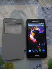 Мобильный телефон Samsung S 5 (экран 4, 5 Android 4,  2 сим карты)