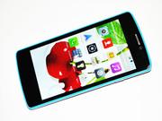 Смартфон  Samsung (4.6,  2 ядра,  Android 4.4.2,  4Гб,  камера 5МП - Blue