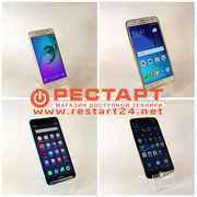 Смартфоны б/у с гарантией: Samsung,  Lenovo,  Meizu,  Xiaomi,  iPhone